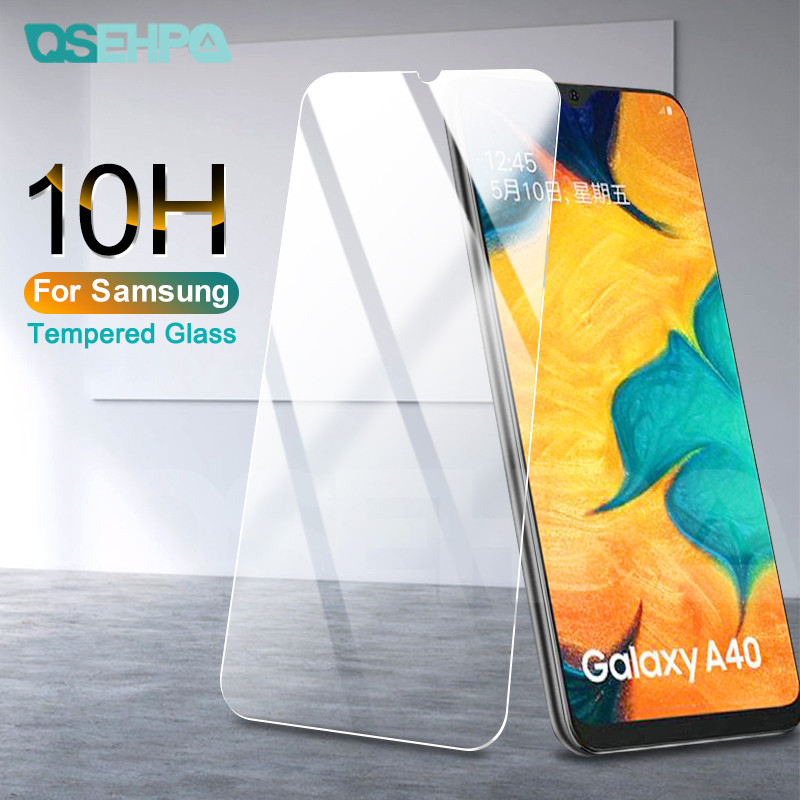 9H Tempered Glass For Samsung Galaxy A10 A20 A30 A40 A50 A60 A70 A80 A90 M10 M20 M30 M40 Screen Protector Protective Glass Film