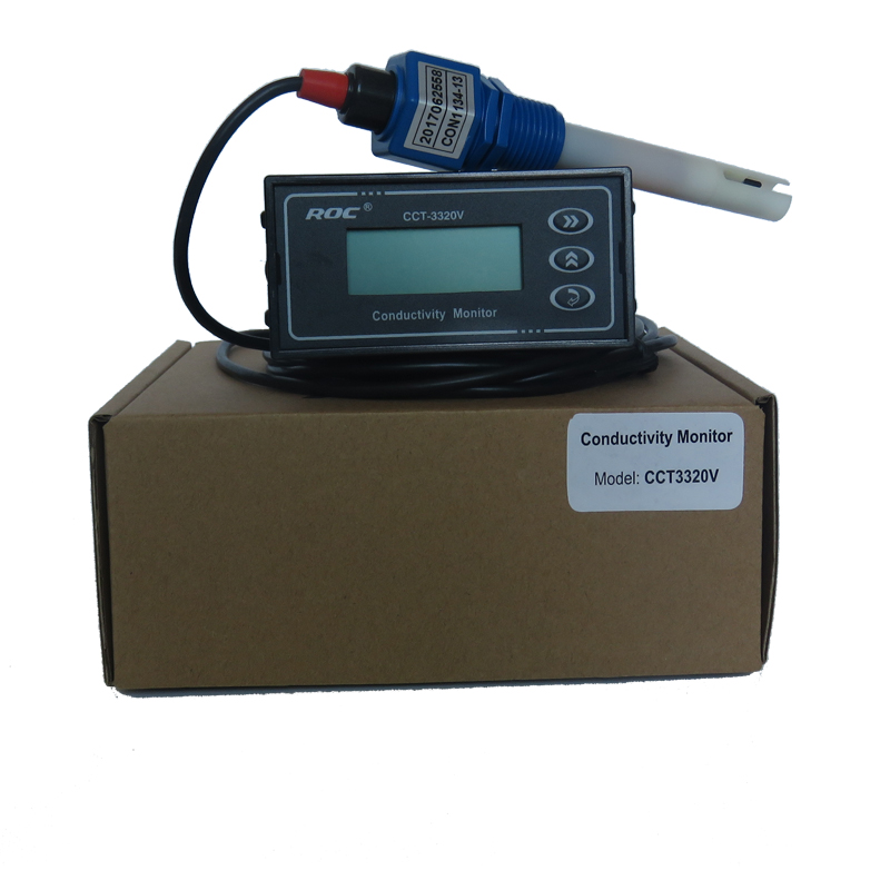 CM-230 Conductivity Meter Online Tester T3320V Resistance Meter Water Quality Automatic Detection Sensor PH Meter