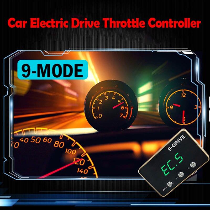 Auto Elektrische Drive Throttle Controller Speed Sprint Booster Voor Toyota Pedalbooster Commando Quick Drive Voor Auto Wijzigen