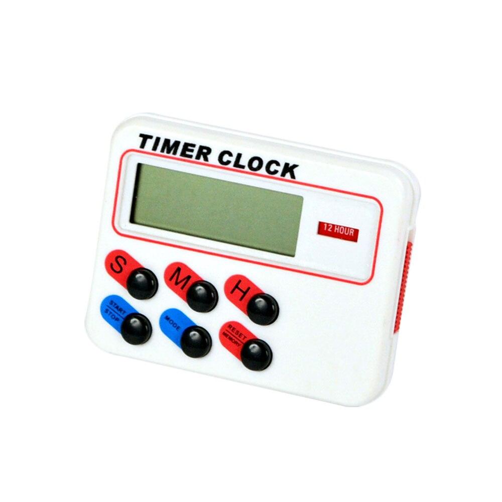Цифровой кухонный таймер Baldr, большой Магнитный ЖК-дисплей, таймер обратного отсчета, секундомер с подставкой, кухонный таймер, практичный кухонный будильник | Дом и сад | АлиЭкспресс