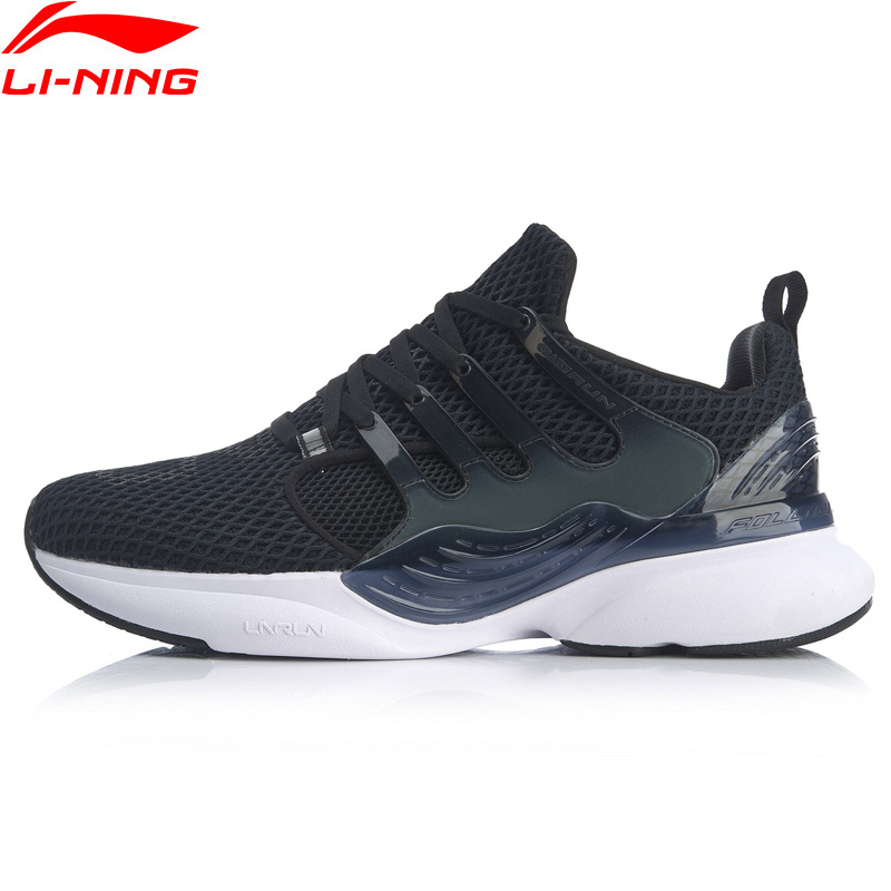 Li-Ning Men CRAZY RUN X Cushion Running Shoes Support Breathable LiNing li ning Sneakers Durable Sport Shoes ARHQ047