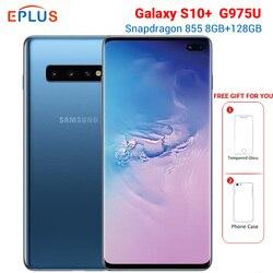 Nowa wersja Sprint Samsung Galaxy S10 + S10 plus G975U snapdragon do telefonu komórkowego 855 6.4