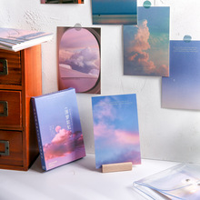 Message-Wish-Card Postcard Gift 4-Styles Scenery Series Romantic Like-Songs Novelty-Years