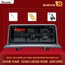 Ips 4gb 128gb 2 din android 10 rádio do carro para bmw x3 e83 2004 - 2012 unidade principal estereofônica da navegação do jogador de vídeo dos multimédios gps dvd