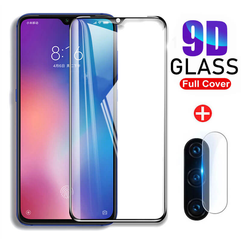 9D Tempered Glass For <font><b>Xiaomi</b></font> Mi 9 Lite Protective Glas For Xiomi Xaomi My 8 Light A3 9t Mi8 <font><b>Mi9</b></font> Lite <font><b>Camera</b></font> Lens Glass <font><b>Protector</b></font> image