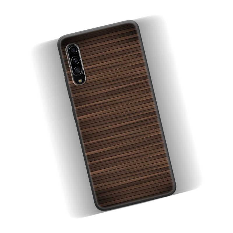 Coque pour Samsung Galaxy J4 J6 J8 Plus 2018 M10 M10S M20 M30 M30S M40 coque arrière de téléphone motif Textures bois