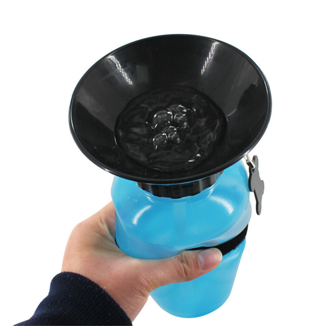 Pet Dog Drinking Water Bottle Sports Squeeze Type Puppy Cat Portable Travel Outdoor Feed Bowl Drinking Water Jug Cup Dispenser 3