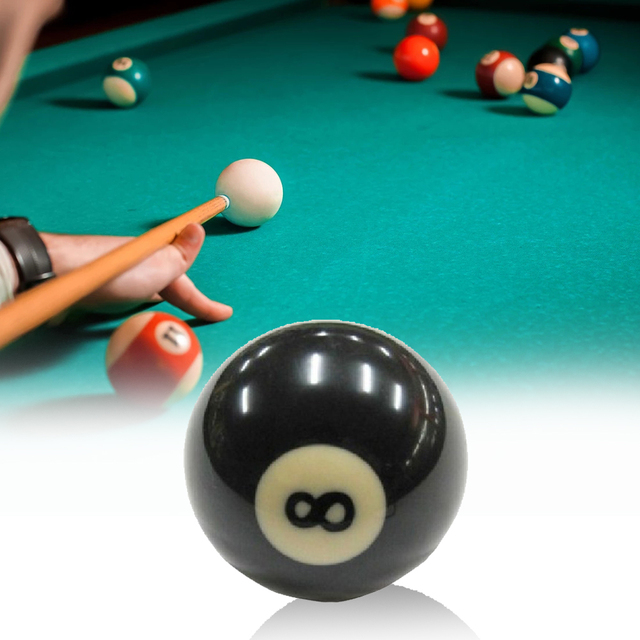 Full Sized 8 Billiard Ball 10