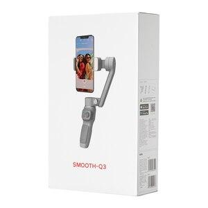 Image 5 - ZHIYUN – téléphone portable Q3 SMOOTH, stabilisateur portatif, cardan 3 axes, Flexible, avec lumière de remplissage, pour iPhone Xiaomi Samsung Android