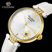Forsining женские часы Топ люксовый бренд автоматические механические