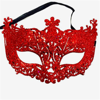 New Fashion Luxury Venetian Masquerade Mask Women Girls Sexy Fox Eye Mask For Fancy Dress Christmas Halloween Party 1