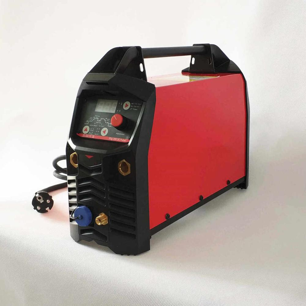 Image 5 - Professional Digital TIG 200A Pulse Welding Machine Hot Start HF Ignition Anti Stick Arc Force CE IGBT Inverter MMA TIG Weldertig 200ainverter welderwelding machine -