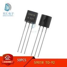 50 шт./лот S9018 TO-92 9018 TO92 Новый триодный транзистор