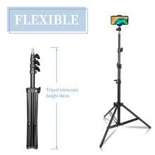 Photographie trépied support de lumière pour Photo Studio réflecteur Softbox lumière parapluie fond vidéo éclairage Studio en alliage daluminium