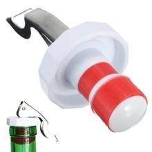 Reusable Stainless Steel Wine Bottle Stopper Opener Plug Kitchen Pub Bar Tool