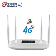 Enrutador Wifi 3G/4G CPE LTE, desbloqueo de punto de acceso móvil, Mini módem inalámbrico de banda ancha portátil, Wi-Fi, Tarjeta SIM Universal, datos de bolsillo, Wif