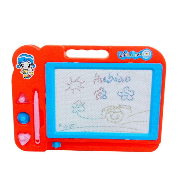 Hot Sales Early Education Color Sketchpad Educational Toy Children Multi-color Magnetic Drawing WordPad Graffiti Painted Wholesa