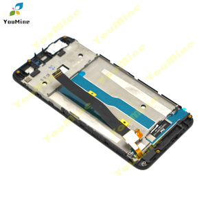 Image 5 - Per ZTE Lama A610 Display LCD Dello Schermo di Tocco di HD Digitizer Assembly lcd con cornice Versione 318 / A241 / YASSY per ZTE A610 lcd