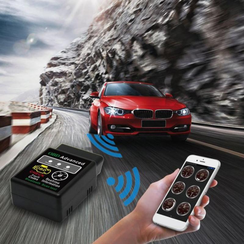 OBD2 HHOBD ELM327 V 2,1 Bluetooth BUS Check Engine Auto Auto Diagnose Tool Interface Scanner Adapter Scan-Werkzeug Auto Zubehör