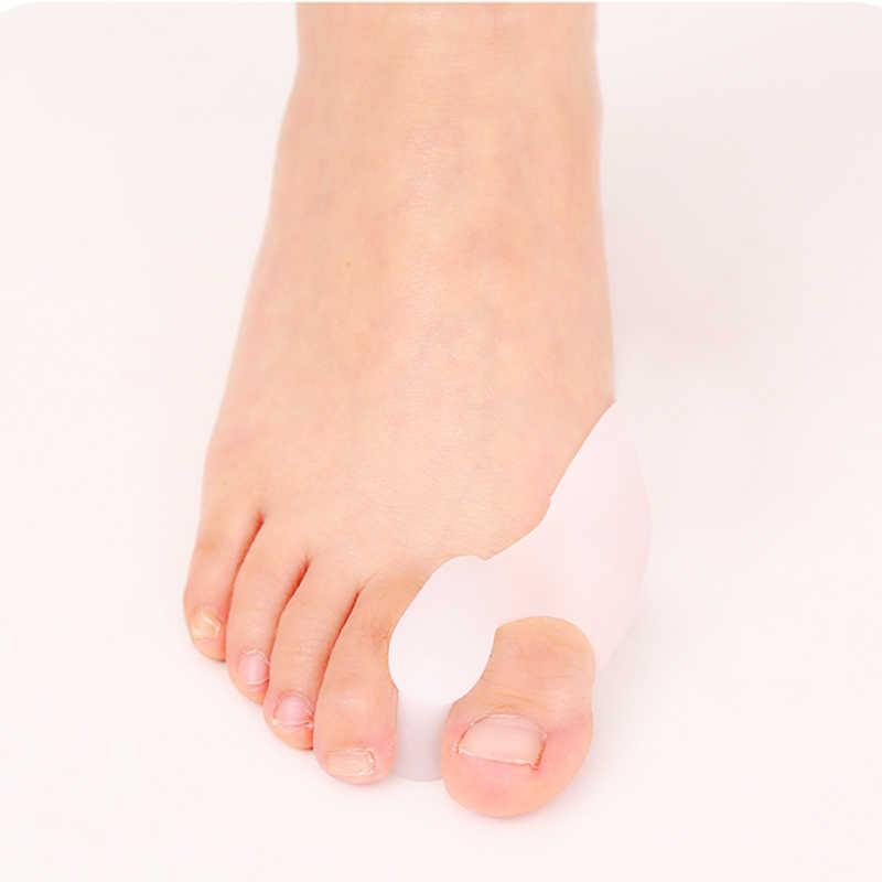2 uds = 1 par gel para el cuidado del pie herramienta juanete Corrector protector de hueso Hallux esparcidor de enderezador valgus grande del dedo del pie pedicura de dedos del pie V1W0