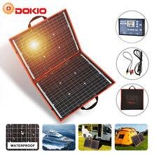 Dokio 18 12v 80ワット柔軟なfoldbleモノラルソーラーパネル屋外ポータブルソーラーパネル旅行 & ボート & rv高品質ソーラーパネル中国