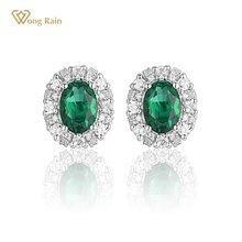 Wong rain vintage 925 sterling silver created moissanite diamonds