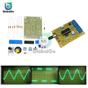 1Set ICL8038 Monolithic Function Signal Generator Module DIY Kit Sine Square Triangle Frequency Generator Capacitor Inductor