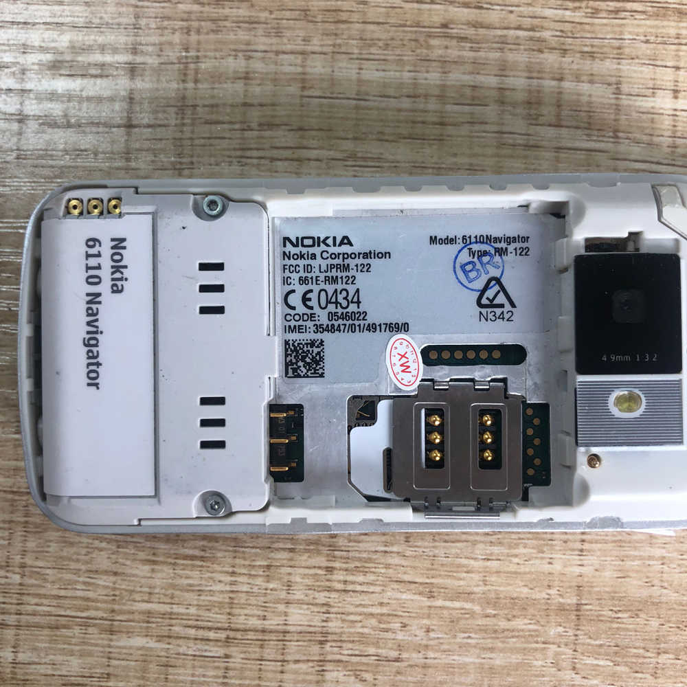 8GB microSD memory for Nokia 6110 Navigator Phone Micro SD Cards ...