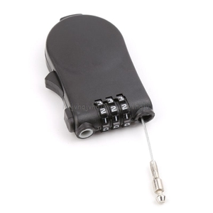 Retractable Wire Rope Password Lock Combination Coded Locker Outdoor Keyed Padlock N22 19 Dropship
