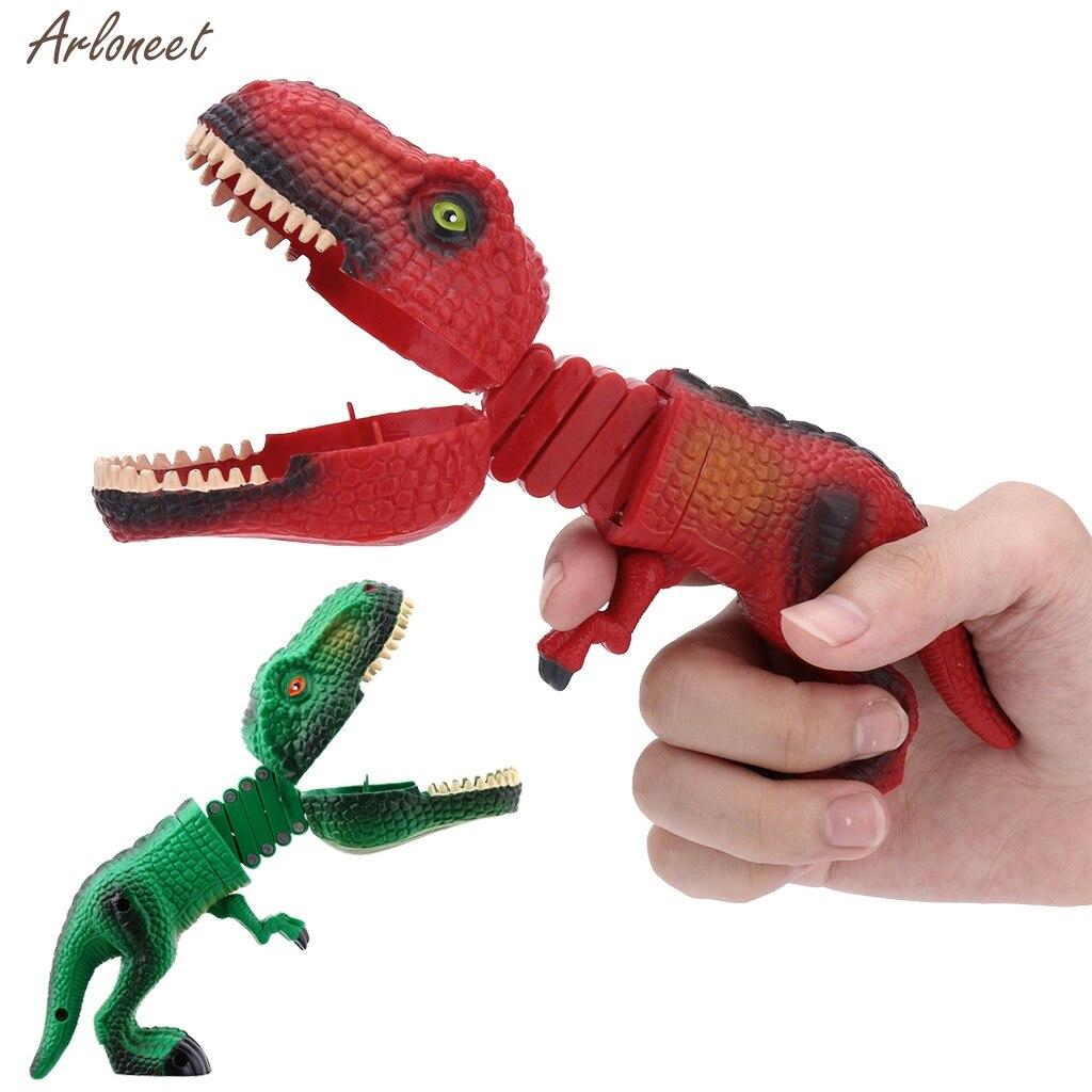 Figuras de Animais de dinossauro Garra Grabber Game Snapper Pick Up Garra Novidade Caçoa o Presente Da Novidade brinquedo engraçado jogo Dinossauro