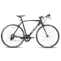 US EU Free Ship HILAND 700C 14 Speed Aluminum Frame Road Bike  Bicycle Shimano Parts 1