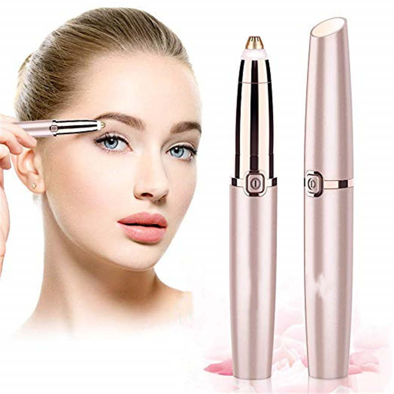 Electric Eyebrow Trimmer Mini Shaver Razors Portable Epilator Pen Epil Hair Remover Painless Razor Facial Depilador Epilator