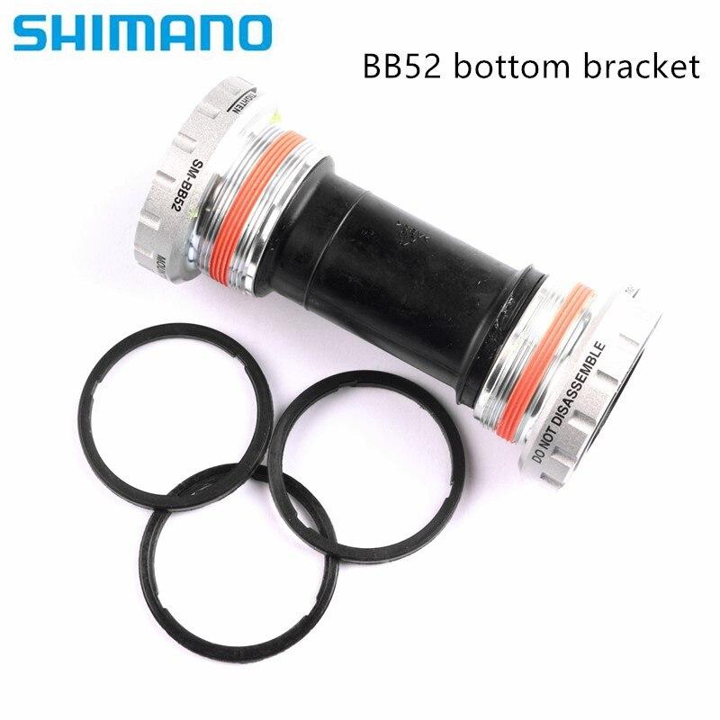 SHIMANO DEORE SM-BB51--BB52 EXTERNAL BEARING SILVER BICYCLE BOTTOM BRACKET