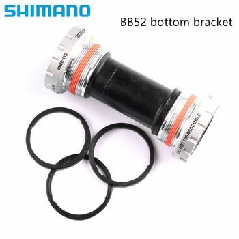 Shimano Deore SM BB52 wspornik dolny MTB Hollowtech II łożysko zewnętrzne-srebrny tanie i dobre opinie Mountain Bikes Alloy SM-BB52