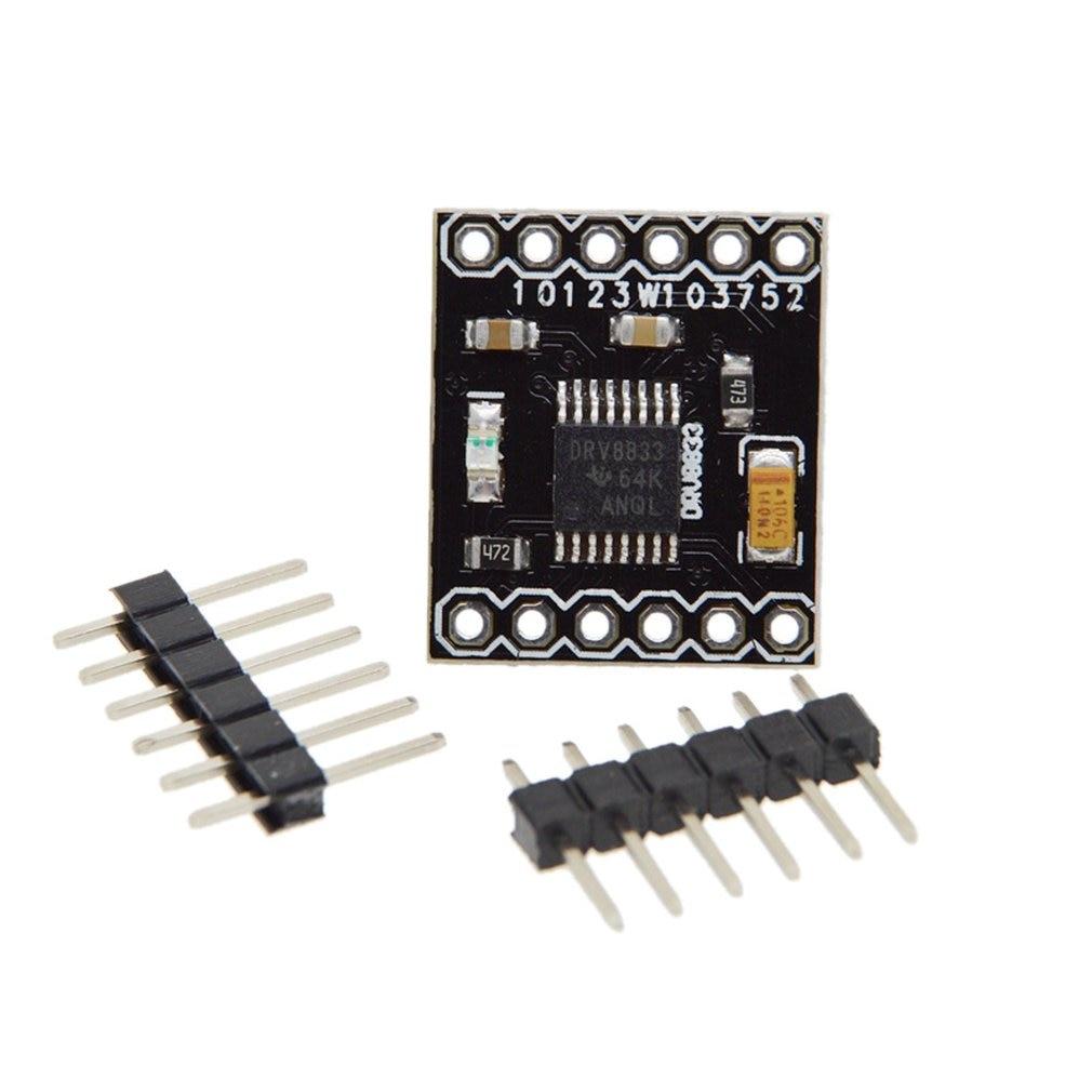Over-Current Protect DRV8833 2 Channel DC Motor Driver Module Board 1.5A 3V-10V H-Bridge Module