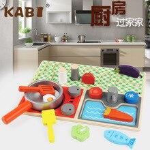 Кухня игровой домик игрушки креативные детские строительные блоки игрушки Детские ручные Игрушки для раннего образования