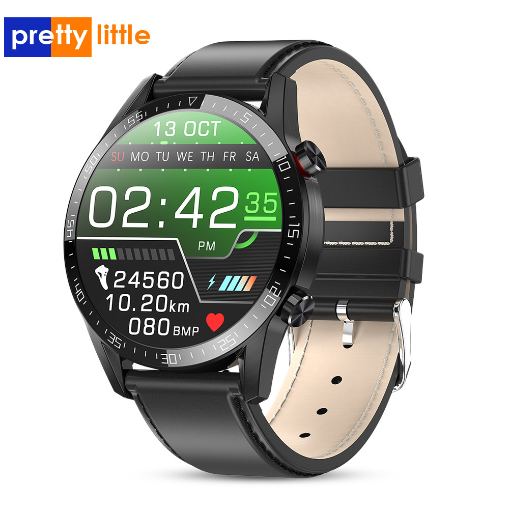2020 L13 Ecg Smart Watch Men 24 Hours Heart Rate Monitoring Smartwatch For Android IOS Bluetooth Sports Tracker Fitness Watches