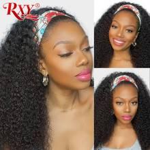 Parrucca per capelli umani ricci profondi RXY parrucca brasiliana per capelli umani 8