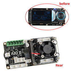 AIO II V3.2 płyty głównej wszystko w jednym 32 bitowy MCU 32bit ST820 Driver 256 Microsteps płyta kontrolera z Marlin dla 3D drukarki CNC