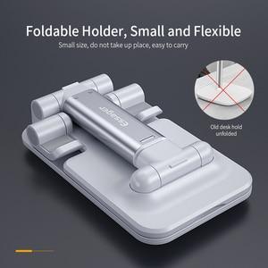 Image 3 - Essager Universal Adjustable Mobile Phone Holder Non Slip Mobile Phone Holder Desktop Metal Tablet Stand For iPhone iPad Xiaomi