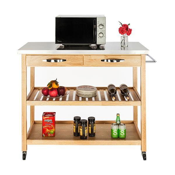 Moveable Kitchen Cart  6