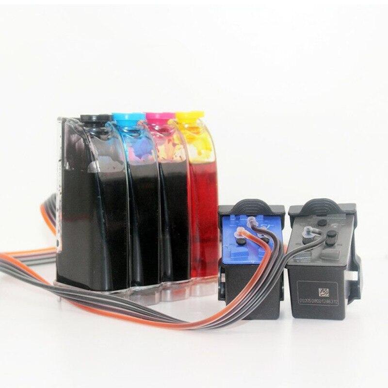 Refillable CISS Compatible For HP 21 22 For Deskjet 3915 3920 D1530 D1320 D1311 D1455 F2100 F2280 F4100 F4180 Printers