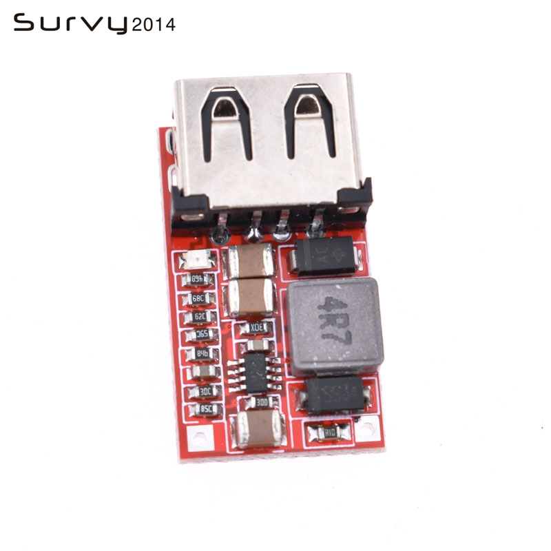 1PCS 6-24V <font><b>12V</b></font>/24V to 5V 3A CAR <font><b>USB</b></font> <font><b>Charger</b></font> <font><b>Module</b></font> DC Buck step down Converter image