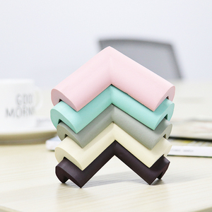 10pcs/lot 5.5x5.5cm Soft Table Desk Corner Protector Baby Safety Edge Corner Guards for Children Infant Protect Tape Cushion