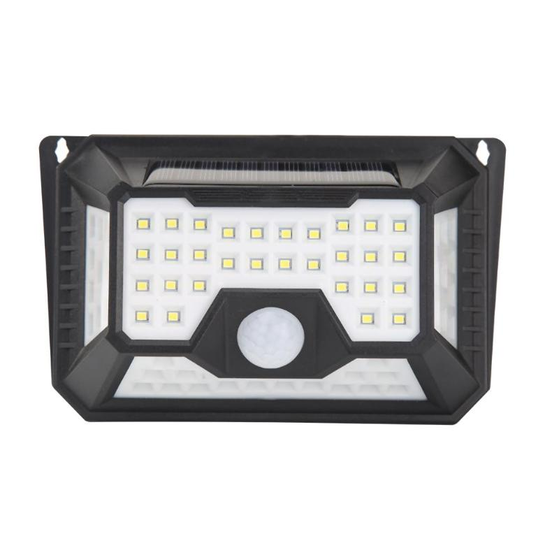 VKTECH 66 LED Solar Light Outdoor Waterproof Solar Lamp PIR Motion Sensor Wall Light Solar Powered Sunlight For Garden Street