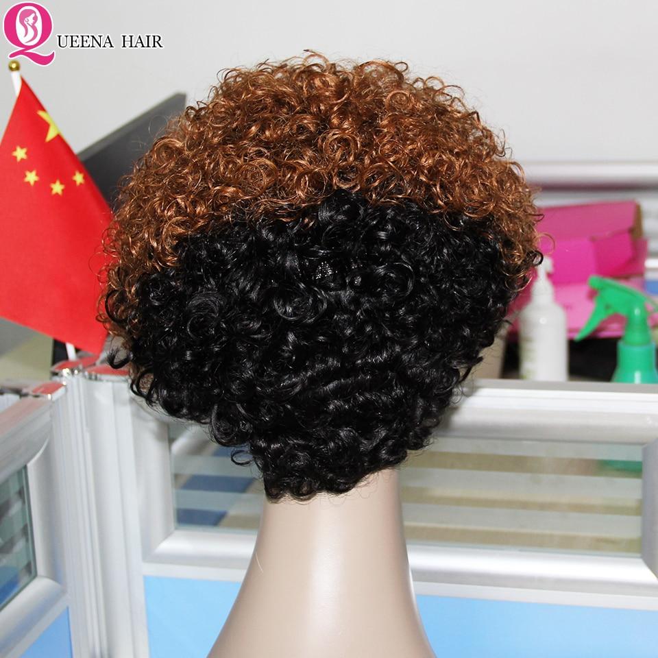 loira destaque bob peruca completa remy 150% máquina feita bob perucas