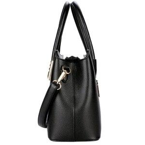 Image 3 - 2019 New Fashion Bag Womens Genuine Leather Luxury Handbags Women Bags Designer Female Shoulder Bag Purse Bolso Mujer
