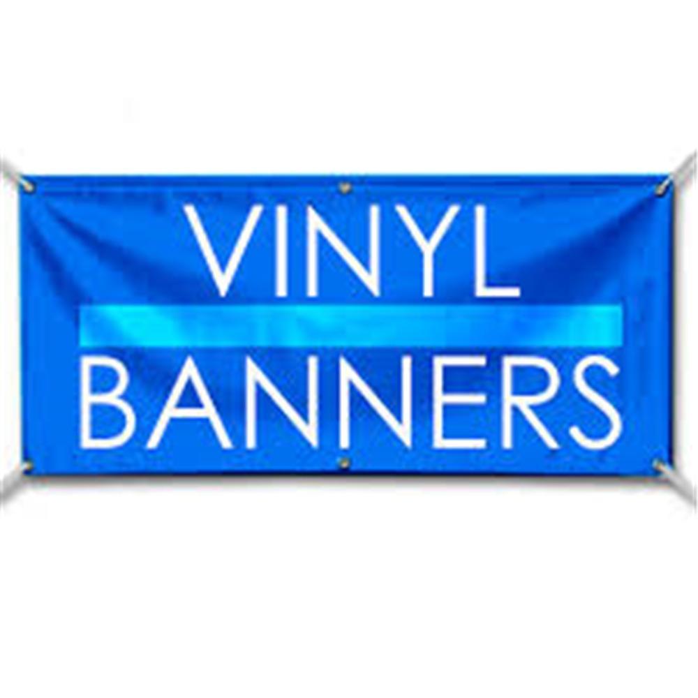 Custom Banner 16oz Vinyl//Flex 4/' X 15/' FeeT Outdoor Personalized Advertise Signs