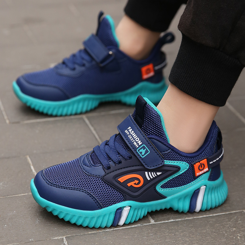 ULLKNN Children's Sports Shoes 12 Years Old  Sneakers For Boys Net Shoe 6 Big Kids 7 Spring 8 New 9 Boys Breathable 10 Mesh
