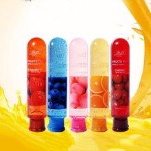 80ml Edible Fruit Flavor Water Based Lubricant Sexual Anal Vagina Body Lubricati